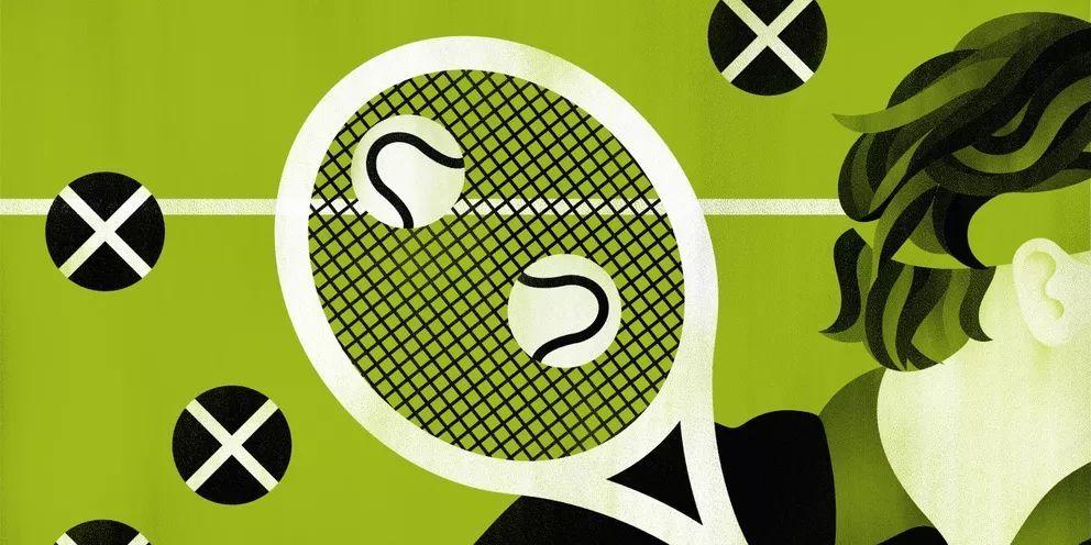 """关于网球场上的""""第一时间击球"""""""