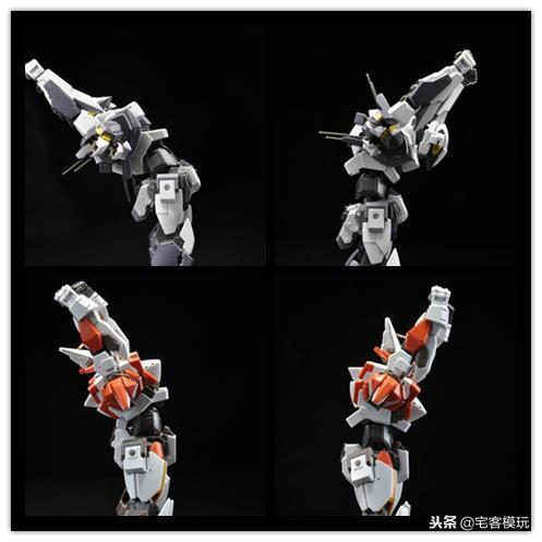 78官測:萬代 HG ARX-8 烈焰魔劍 Ver.IV 65