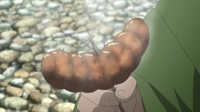 博人傳:鳴人和博人吃蟲子都不算什麼!綱手的口味最重,要吃豬? 6