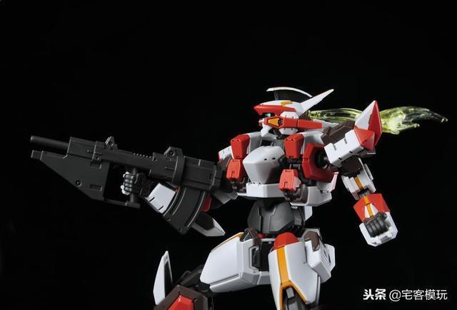 78官測:萬代 HG ARX-8 烈焰魔劍 Ver.IV 77