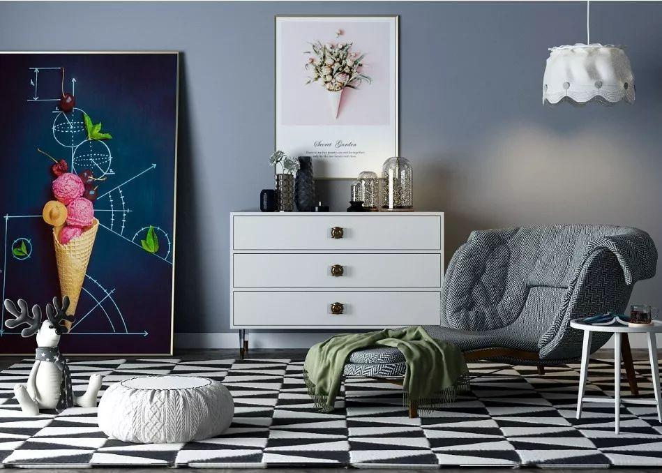 西安龍發裝飾|超好看的沙發擺設圖,拉升客廳顏值就靠它了
