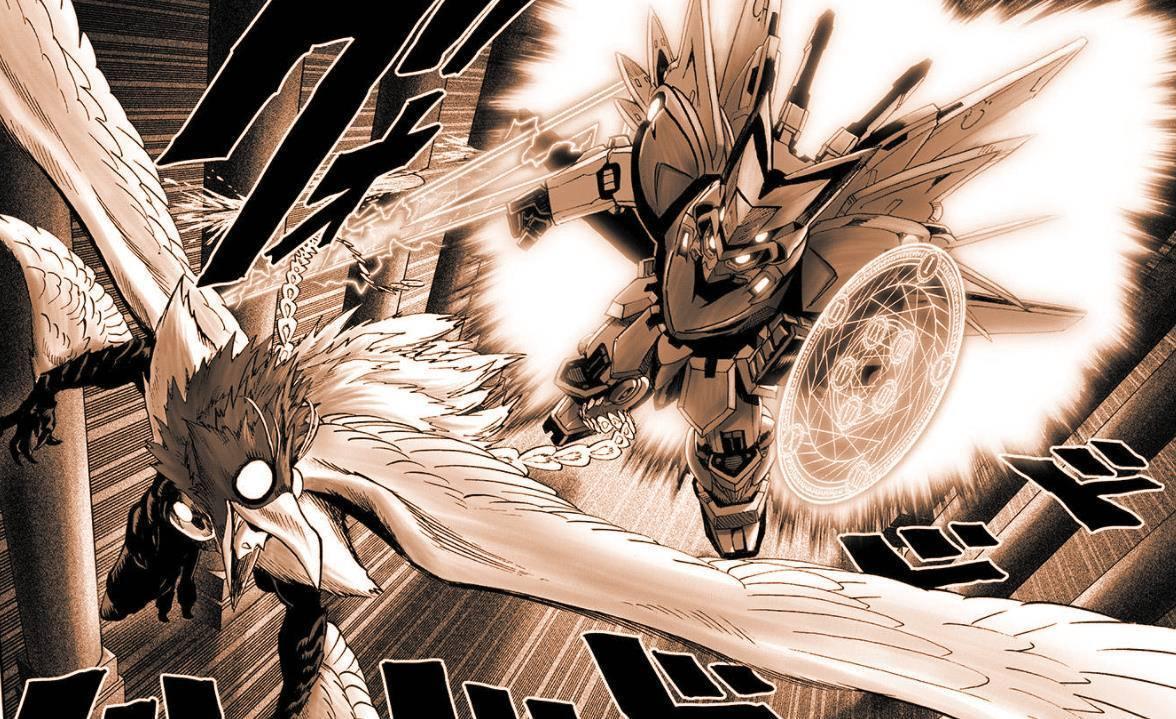 一拳超人:鳳凰男最終會敗在誰手?童帝怕是撐不住了! 1