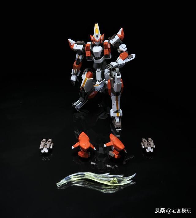 78官測:萬代 HG ARX-8 烈焰魔劍 Ver.IV 56