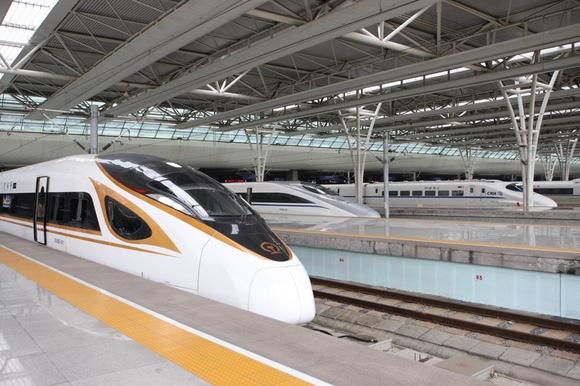 """【年终盘点】""""复兴号""""覆盖长三角高铁线 新列车运行图图片"""
