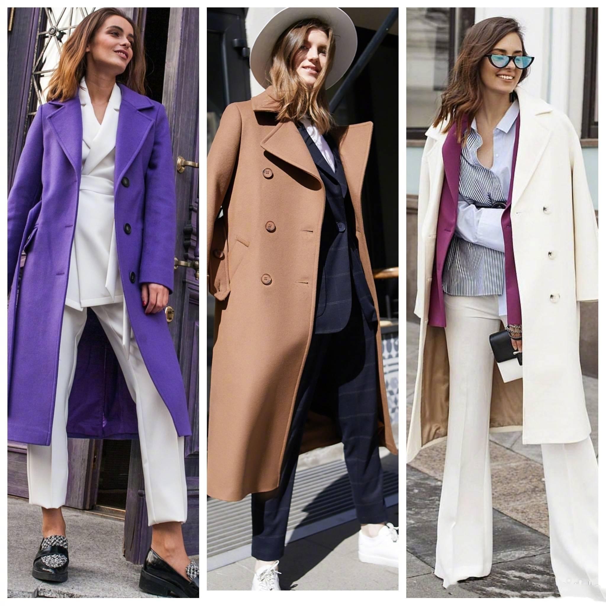 51套大衣搭配合集,各種顏色的大衣基本都集齊了