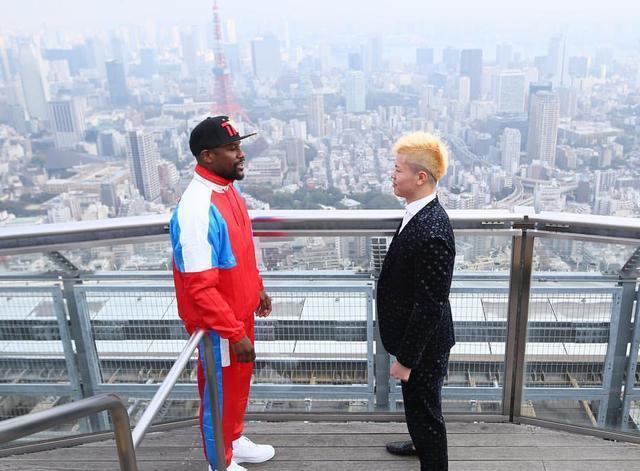 梅威瑟决战日本搏击新星正式敲定,拳击第一人要遭遇首败?