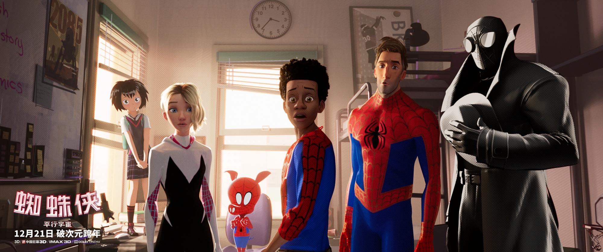 六位蜘蛛俠銀幕首次同框,共同對抗最強反派 3