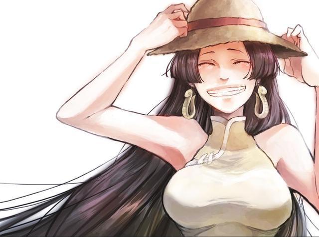 海賊王腦洞:女帝說不定來到了和之國,還成了萬眾矚目的花魁? 4