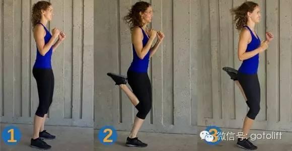 每天两小时运动,高抬腿开合跳等等(运动前后会全身拉伸放松,也会控制图片