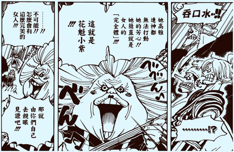 海賊王928話:8年前小紫就被提到,第三個公認的美女,或成為友軍 4