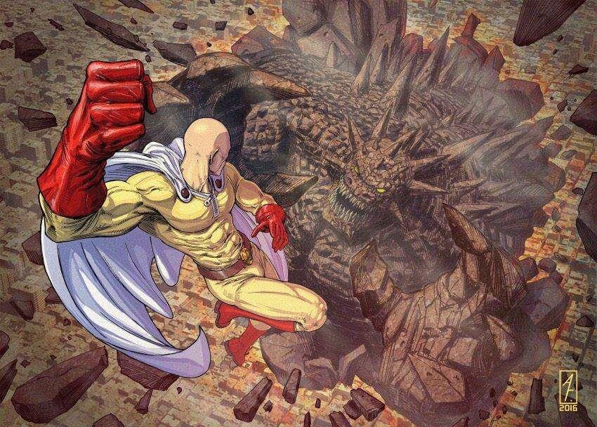 一拳超人:有人考慮過埼玉的破壞力到底如何嗎?會是什麼程度呢? 2