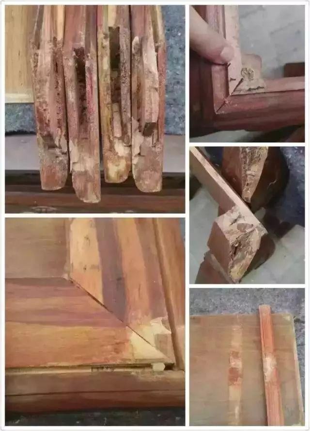 便宜红木家具,还没有成品前,你才看得懂。红木造假手法曝光!触目惊心-红木知识