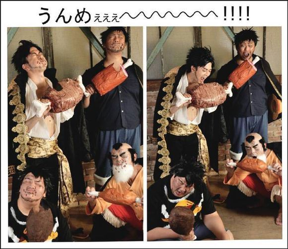 《海賊王》大神COS路飛40歲和60歲的樣子,網友:這也太秀了吧! 5
