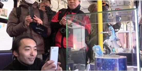 日本雪初音、中國小紅娘電車於12月同時啟動,是時候聖地巡禮了 3
