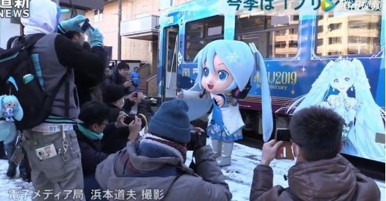 日本雪初音、中國小紅娘電車於12月同時啟動,是時候聖地巡禮了 4
