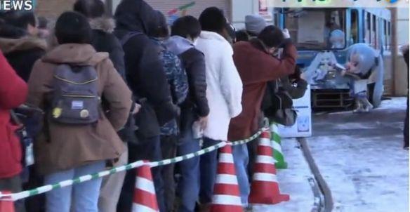 日本雪初音、中國小紅娘電車於12月同時啟動,是時候聖地巡禮了 1