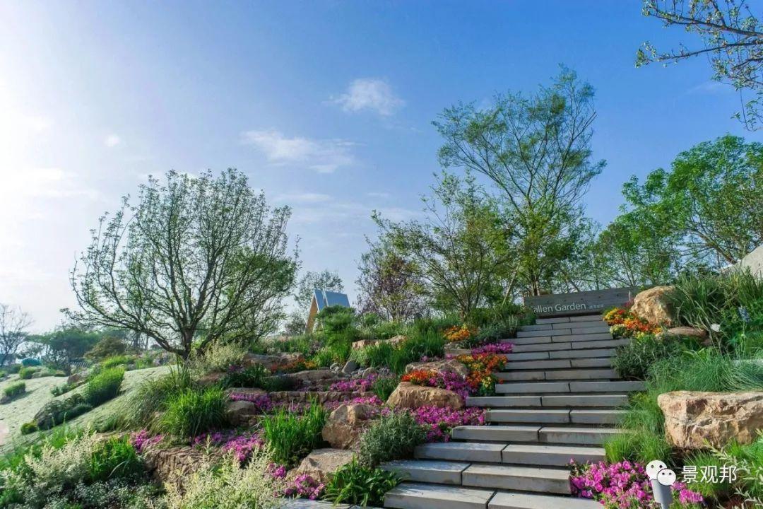 校园生态建筑景观_joy garden屋顶花园,展现了绿色校园建筑立体绿化,生态循环理念与科技