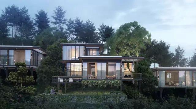 """宋卫平和他的""""别墅山地"""",超现代的盒子玻璃是啥样的?台山趣别墅海图片"""