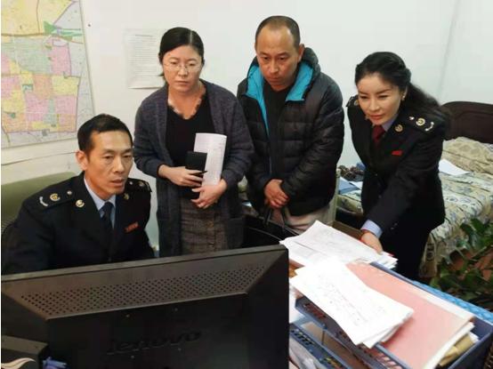 石家庄市新华区税务局 积极落实减税政策优化营商环境