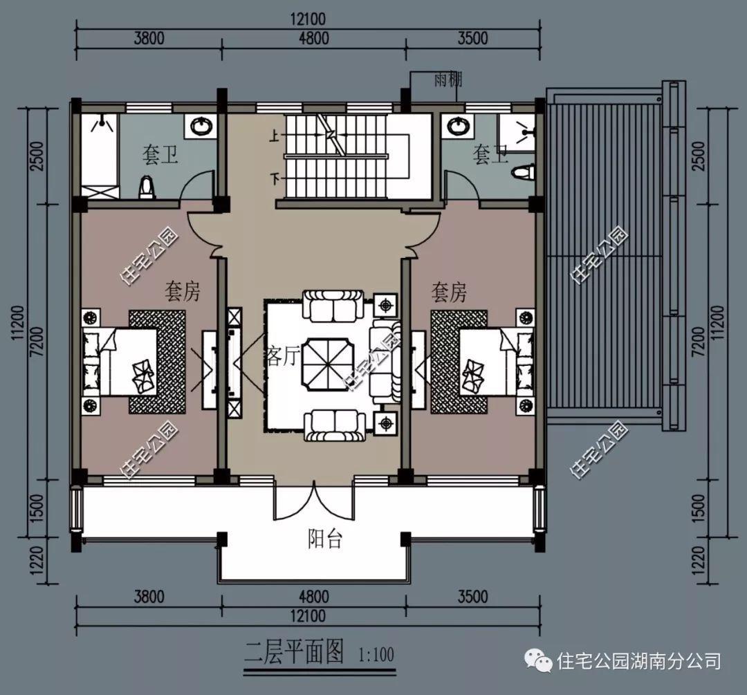 室内房间 设计平面图
