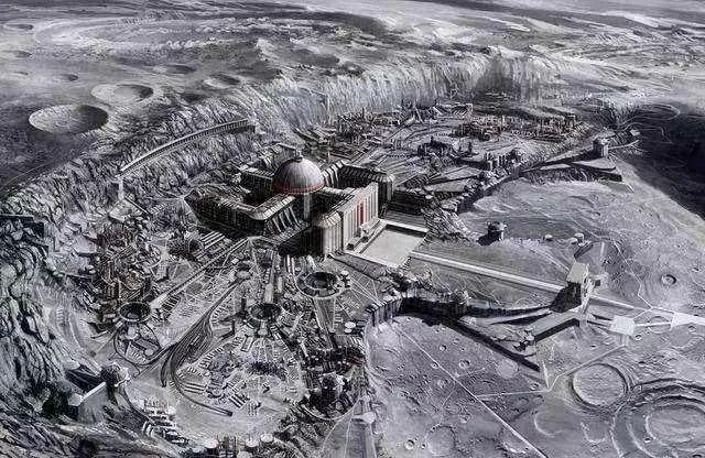 月球背面图片_嫦娥四号飞往月球背面,将在最大陨坑着陆,能找到外星人基地 ...