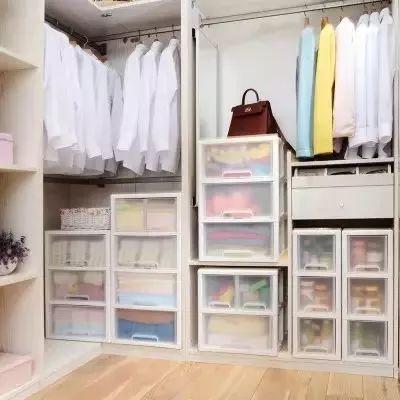 衣柜内部结构图二门