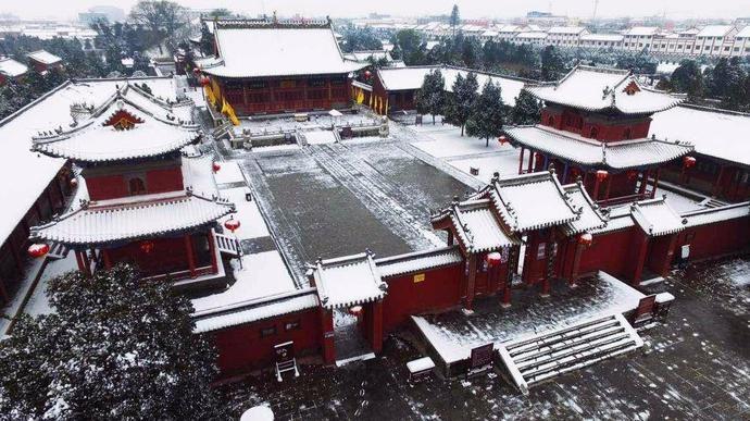 河南有座寺庙,历代帝王52次御祭,传说这里是人祖伏羲氏长眠之地