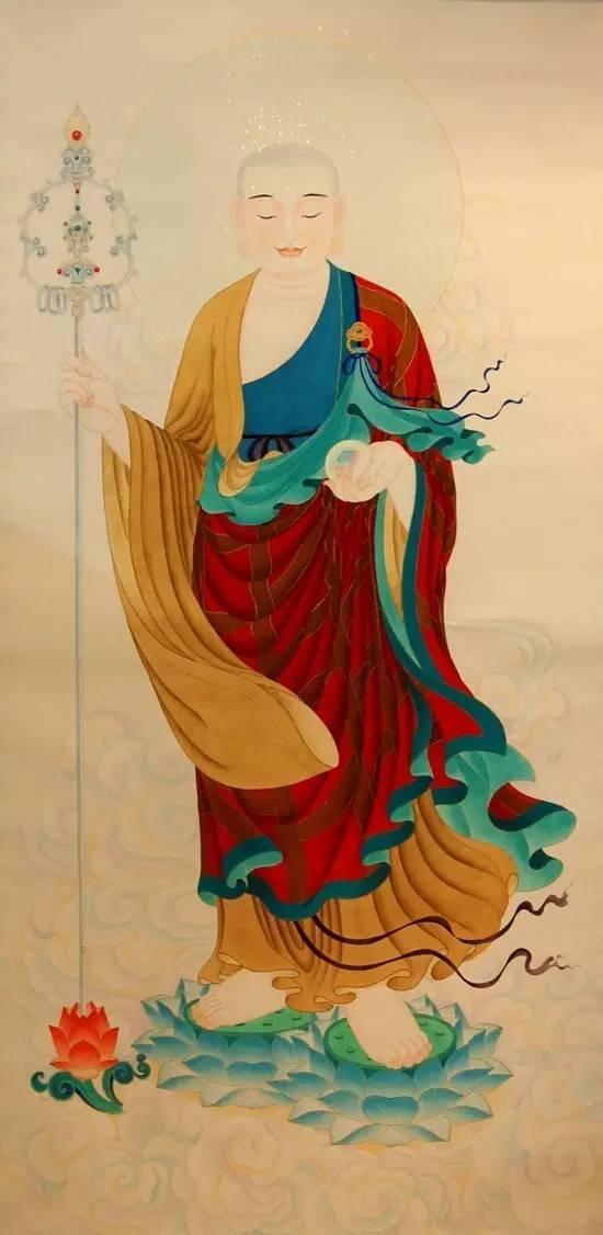 十幅历代地藏王菩萨画像精选,学佛者必收!