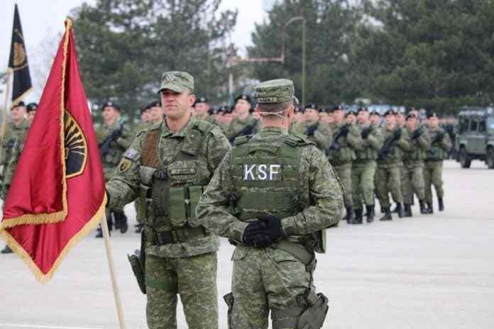 预计将于下周五投票决定是否将其轻武装的紧急部队科索沃安全部队(ksf
