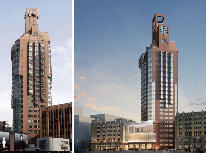 设计院(现为华东建筑设计研究总院),施工单位为上海第四建筑工程公司图片