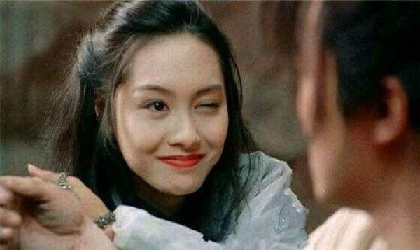 朱茵饰演紫霞仙子