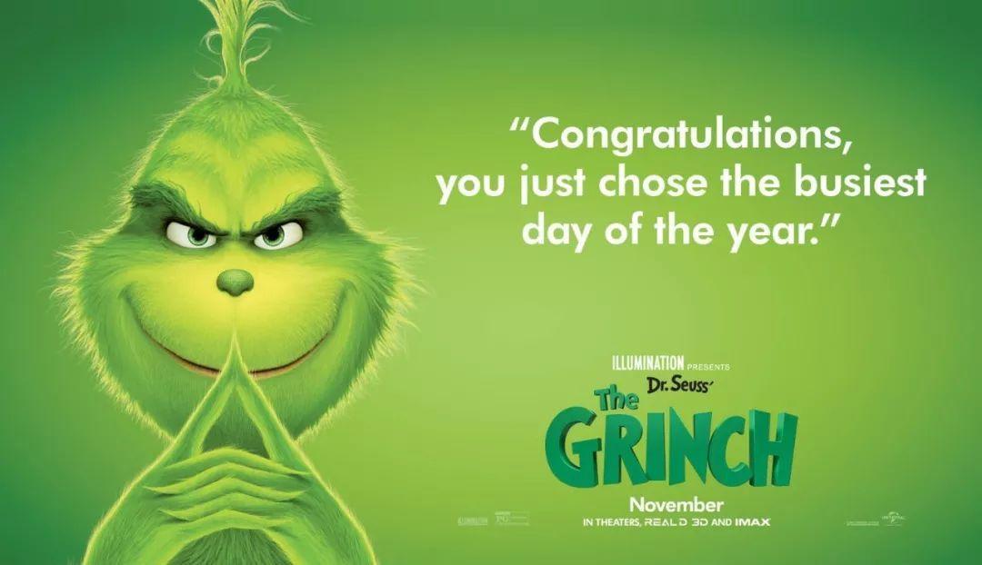 打开这支 《绿毛怪格林奇》