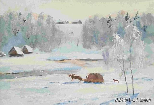 邱德诺夫,俄罗斯著名风景写生画家,资深俄罗斯美协会员;1953年出生于图片