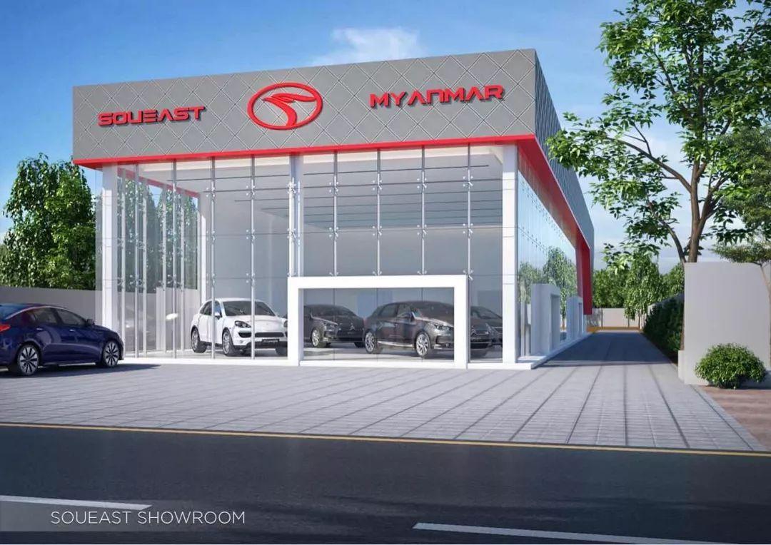 东南A5翼舞首销海外东南汽车全系车型合力角逐海外市场
