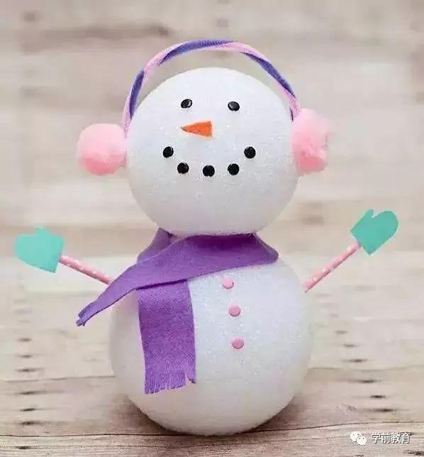 手工制作项目&3款冬季手工制作,做一个美丽的雪世界吧