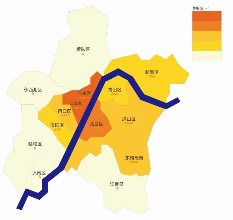 街道口以北)家长>新武昌(洪山+光谷)家长>青山家长=汉阳家长>硚口区>图片