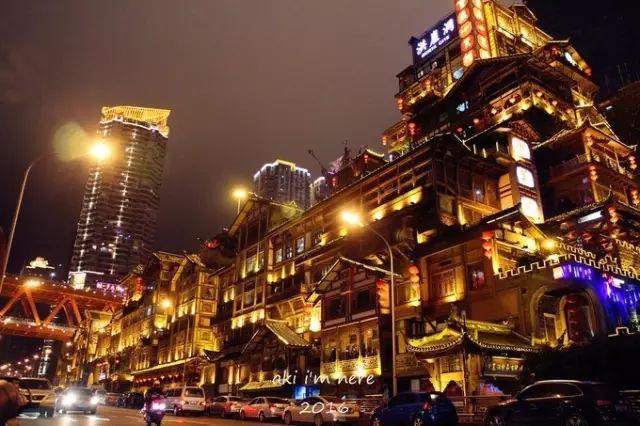 重庆旅游攻略 不如在重庆的夜里再走一遍江湖