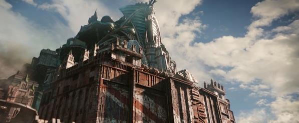 彼得杰克森烧脑打造宏伟巨制《移动城市》,效果堪比图片