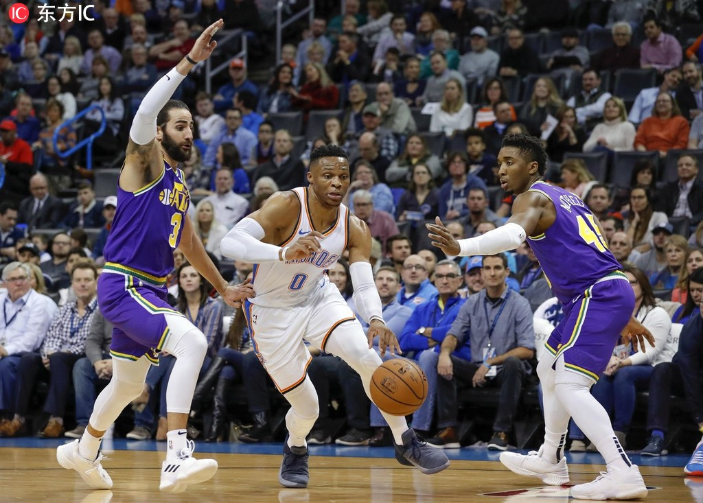 【NBA直播】2019.2.23 10:30-爵士VS雷霆  Utah Jazz vs Oklahoma City Thunder LIVE