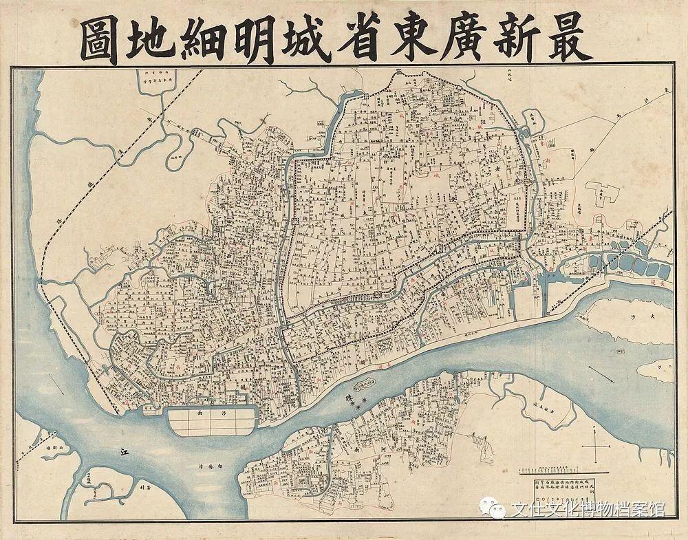 最新广东省城明细地图图片