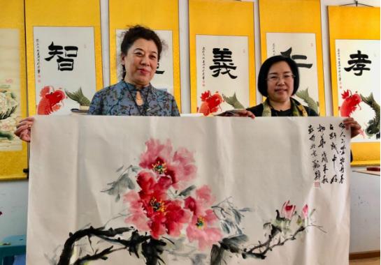 公益在线·中国名家推荐——国画花鸟名家、美术教育家庞颖