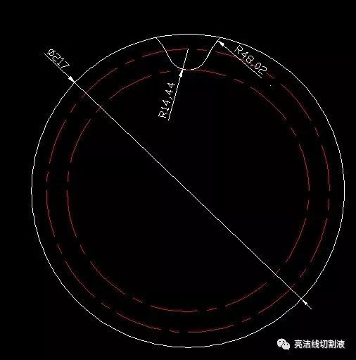 autocad实战教程-线切割画链轮