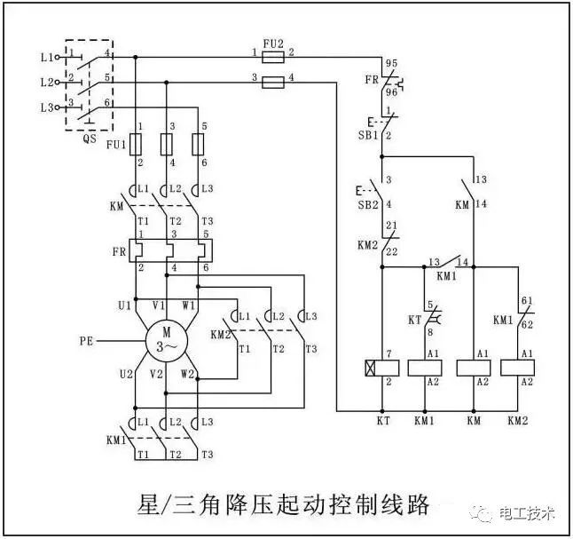 三相四线电度表带互感器电路图 三相四线电表的接线要点:1,4,7接互感