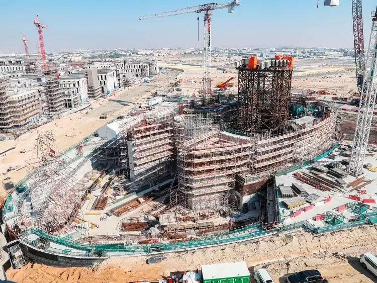 迪拜2020年世博会现场发生轻微火灾