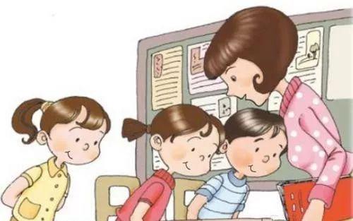 教育 正文  6 一看你就是老师 因为你都是步履匆匆 但一看到孩子 立刻图片