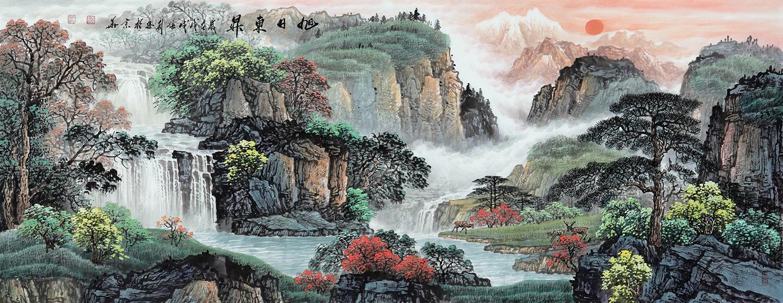 室内挂幅什么装饰画好 五款山水画值得参考!