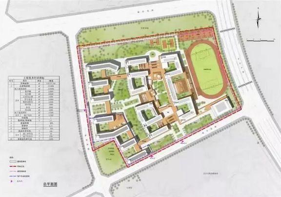 南康中学北校区规划图