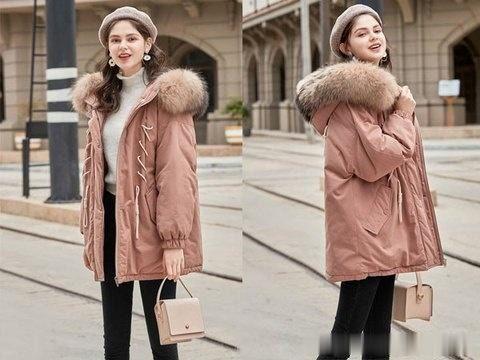 初冬季只要一款棉衣外套就够了,时尚保暖都刚刚好