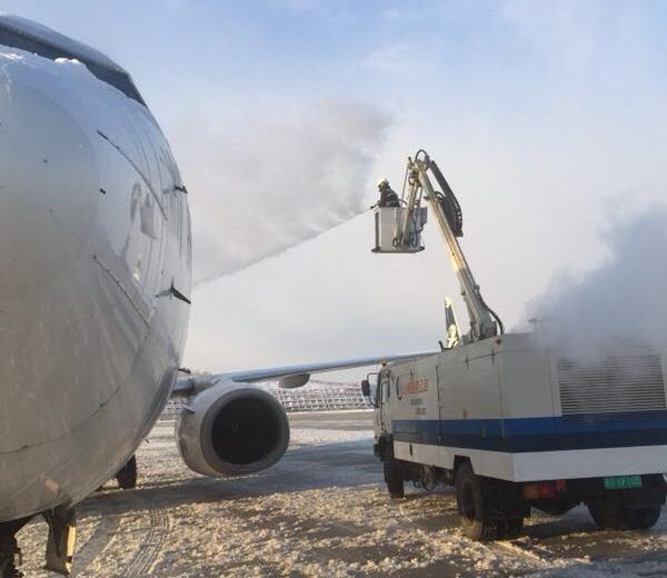 山东航空烟台分公司---雪天运行保安全,齐心协力促生产
