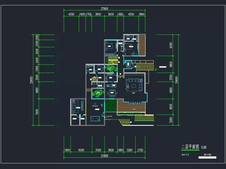 8套获取中式方案风格费用设计别墅!免费精选!建筑设计山地收费计算图片